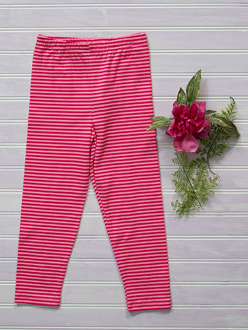 Candy Stripe Girls Legging