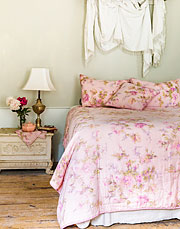Victorian Rose King Quilt
