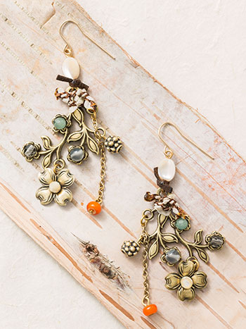 Vintage Blooms Earrings