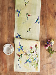 Hummingbird Table Runner