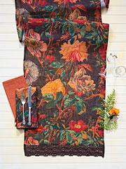 Gorgeous Garden Linen Runner