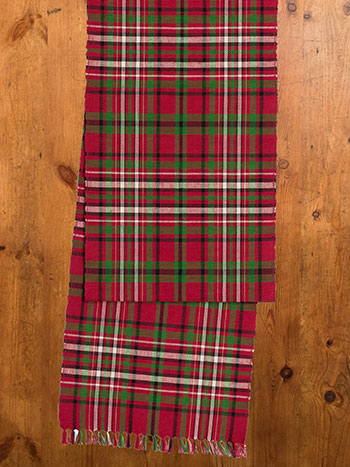 Christmas Plaid Runner