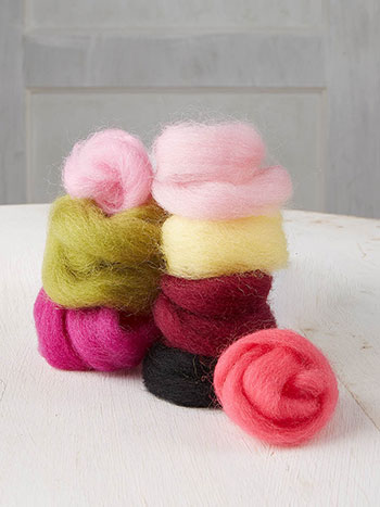 Old Fashion Rose Roving Refill Kit