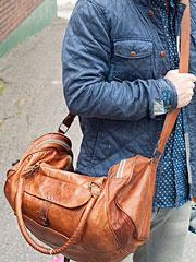 Weekender Leather Bag