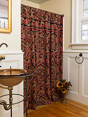Queen's Court Shower Curtain