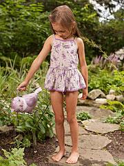 Lilac Girls Sunsuit