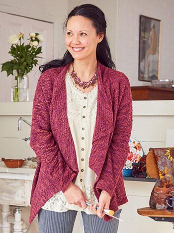 Mori Shawl Collar Sweater