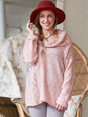 Rose Marie Cowl Neck Sweater