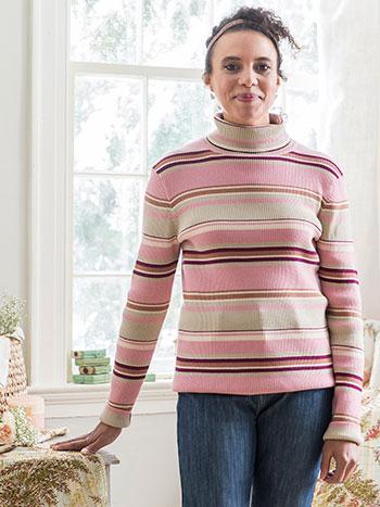 Mod Turtleneck Sweater