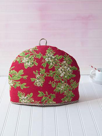 Christmas Patchwork Tea Cozy