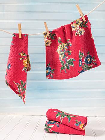 Genevieve Tiny Towel S/4