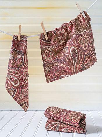 Kashmere Paisley Tiny Towel