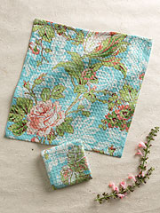 Tea Rose Tiny Towel S/4