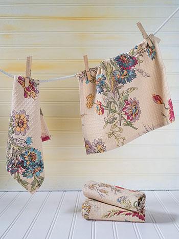 Wildflowers Tiny Towel