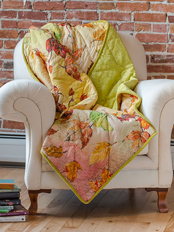 Autumn Leaves Throw