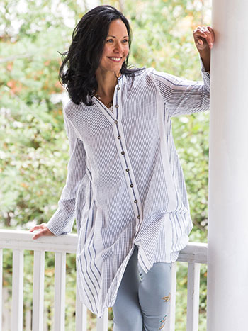 French Stripe Tunic