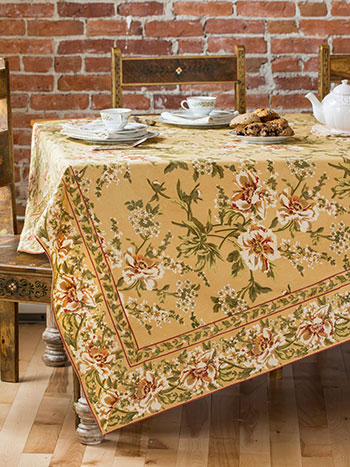 Camelia Tablecloth