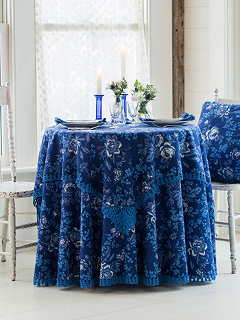 Grace Crochet Tablecloth