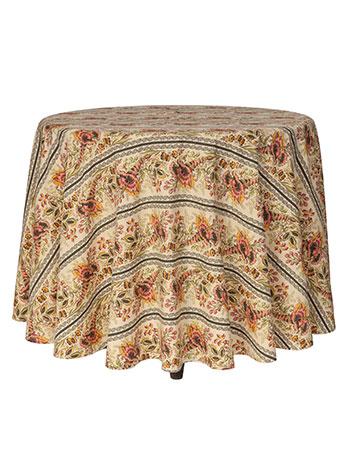 Cornucopia Round Tablecloth