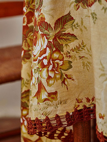 Rosalie Crochet Tablecloth