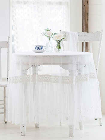 Angelic Embroidered Round Cloth
