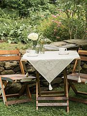 Mystic Emb Tablecloth