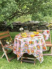 Fruit Basket Tablecloth
