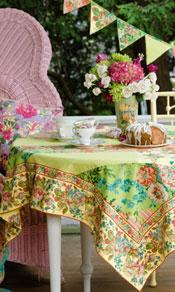 Festival Patchwork Tablecloth