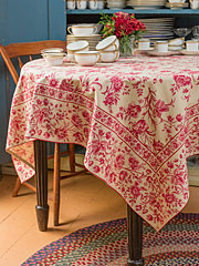 Grandmother's Room Tablecloth
