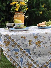 Garden Sparrow Tablecloth
