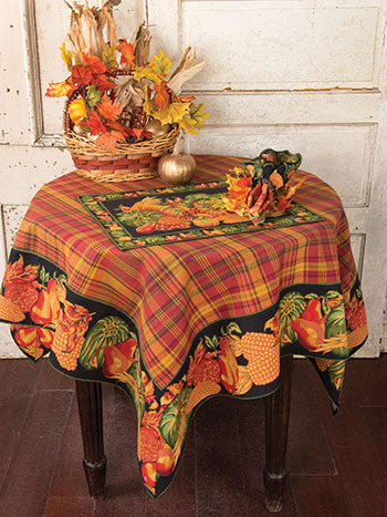Harvest Tablecloth - Black