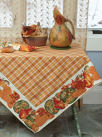 Harvest Tablecloth - Ecru