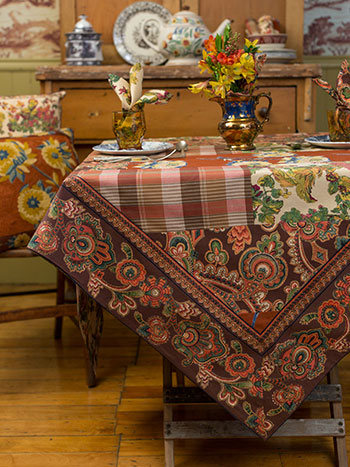 Harvest Riches Patchwork Tablecloth