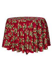 Holly Round Cloth