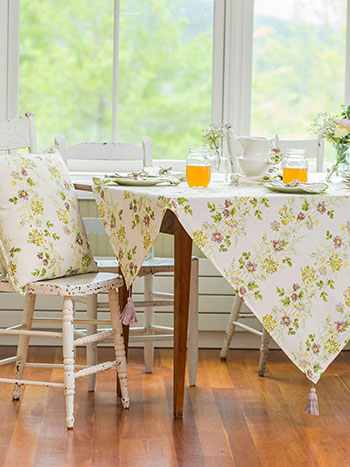 Prairie Hopsack Tablecloth