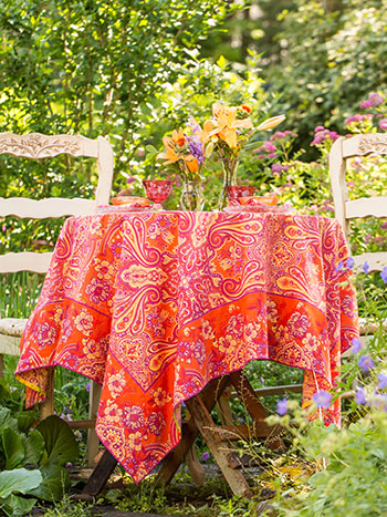 Kashmere Paisley Tablecloth