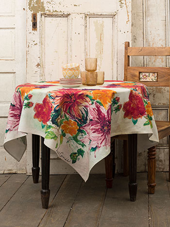 Mums Tablecloth