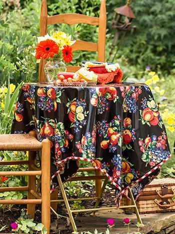 Fruit Basket Oilcloth