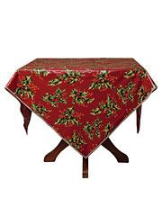 Holly Oil Tablecloth