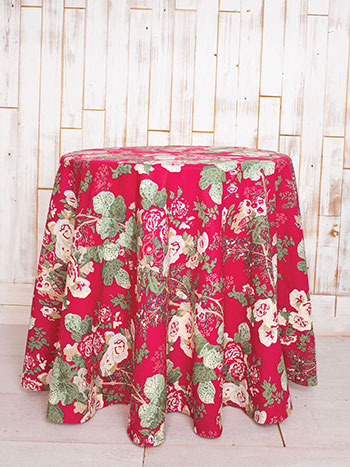 Olivia Round Tablecloth
