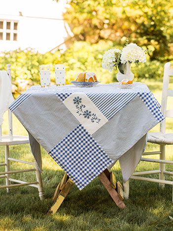 Picnic Patchwork Tablecloth
