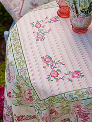 Pretty Patchwork Tablecloth