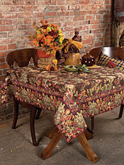 Reverie Tablecloth - Chocolate