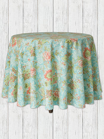 Tea Rose Round Cloth