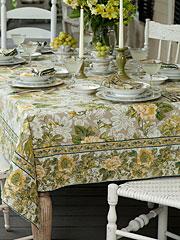Tea Rose Tablecloth