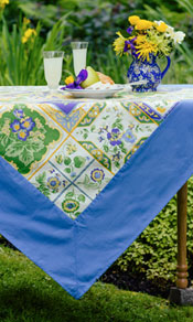 Tile Tablecloth