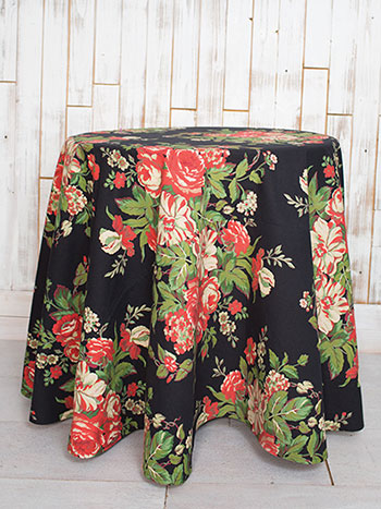 Vivian Round Tablecloth