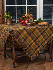 Flea Market Plaid Tablecloth