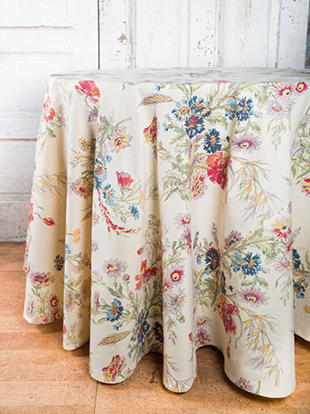 Wildflowers Round Cloth