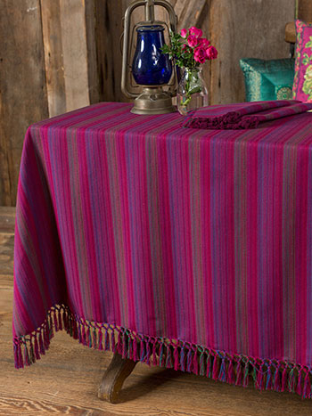 Jaipur Stripe tablecloth
